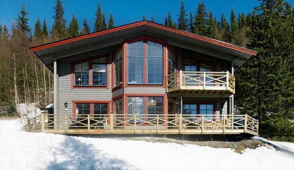 Лыжный домик в Швеции
