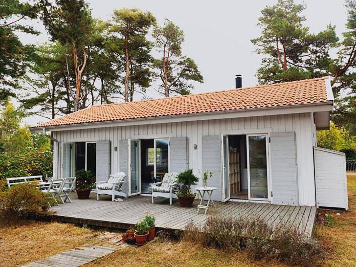 Дом для холостяка в Швеции