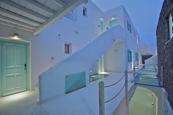 Экстерьер отеля в Греции