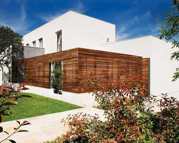 экстерьер современного жилья