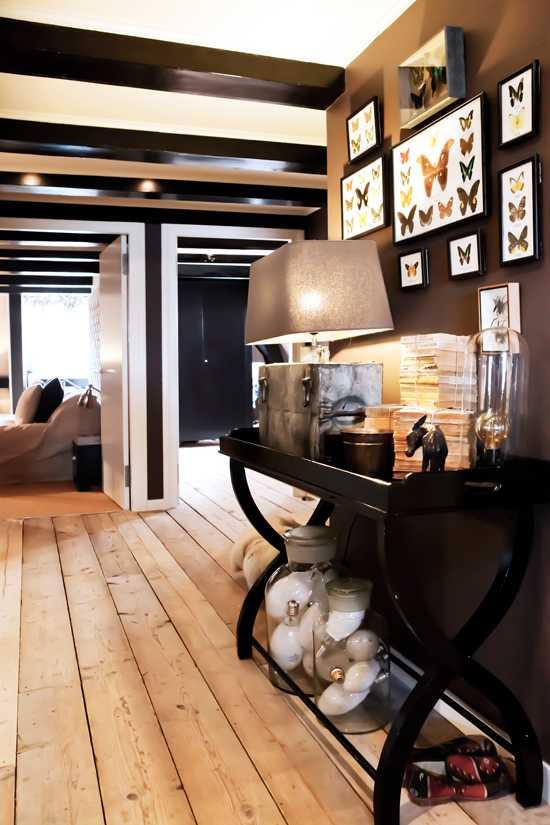 коридор современной квартиры в голландии