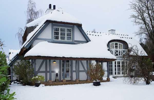 зимний дом в Дании