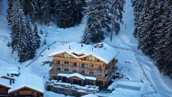 отель в горах швейцарии