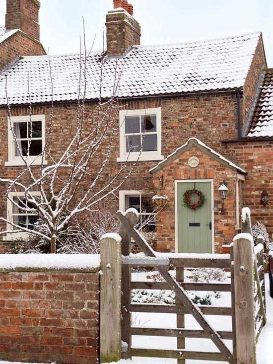 старинный английский дом
