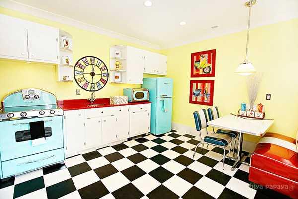 кафель на кухне фото