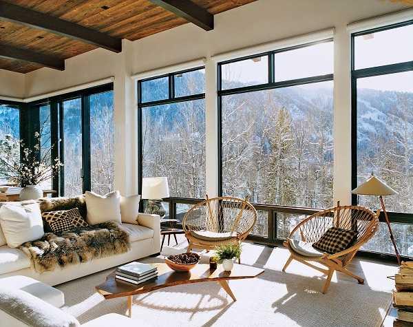 панорамные окна стены