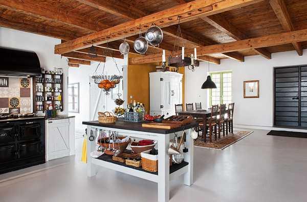 Интерьер дома в деревне швеции своими руками фото