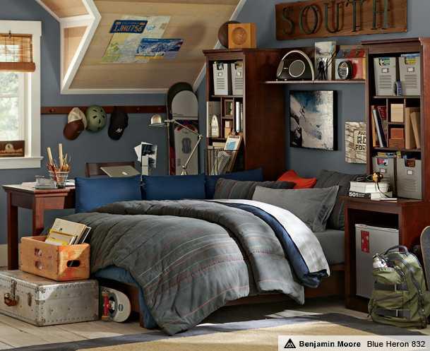 Дизайн комнаты для взрослого парня