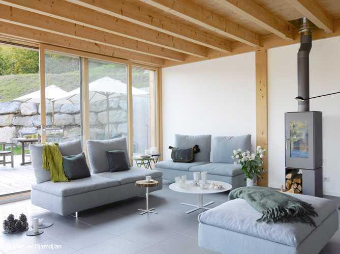 - Decoration interieur chalet moderne ...