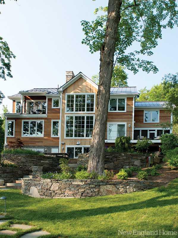 Прекрасный дом у озера