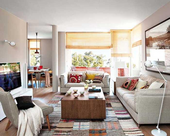 Интерьер квартиры в Барселоне, Испания