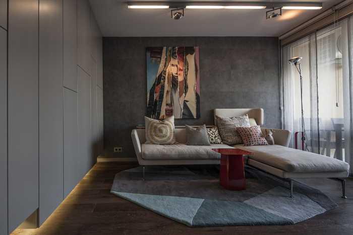 Квартира холостяка в Будапеште (40 кв. м)