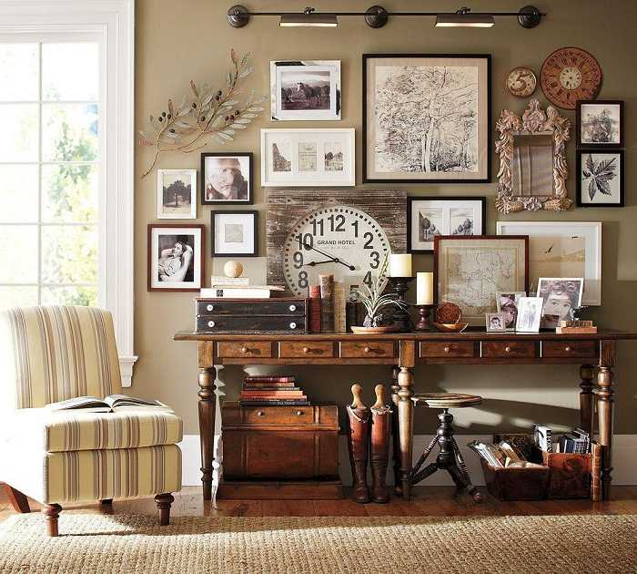 ретро дизайн комнаты картинки то, что там