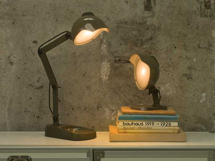 lampe-de-table-duii-mini-grey-diesel-whith-foscarini
