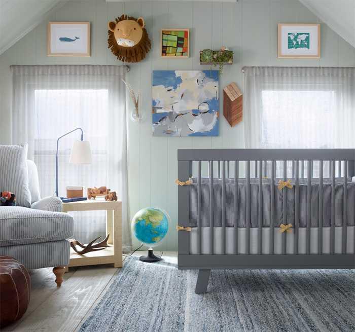 Коллекция мебели и декора для младенцев от Serena & Lily
