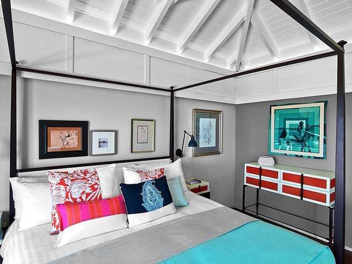 Красочный Guanahani Hotel на Карибах