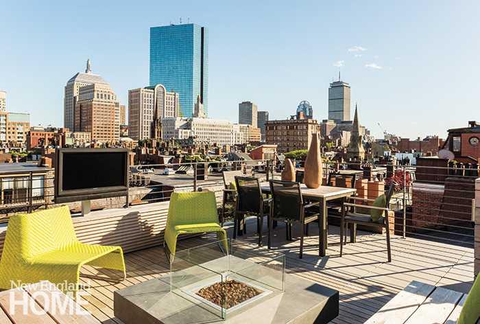 Современные апартаменты в Бостоне