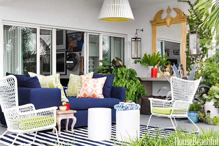 Красочная квартира в Майами