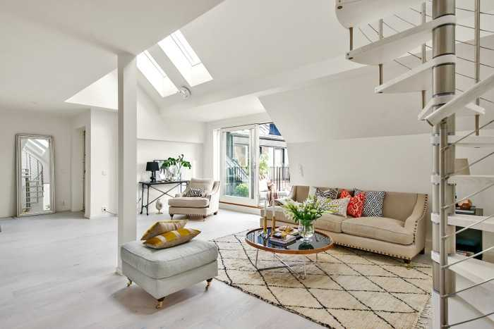 Loft Apartment Interior Exactly What To Learn About Loft Interior - An old attic is transformed into a gorgeous apartment