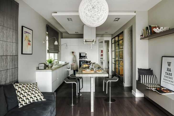 Чудесный современный дом в тихом районе Варшавы