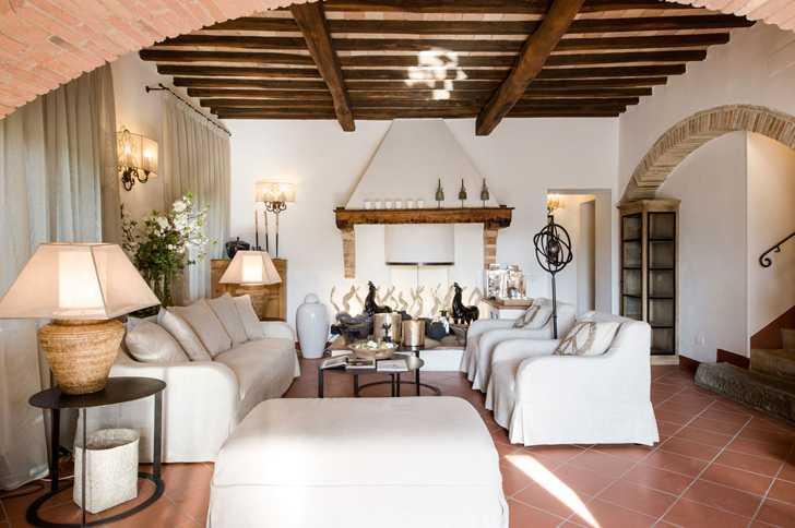 Традиционное итальянское поместье в Тоскане