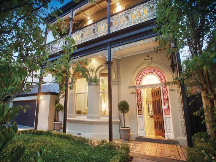Дом викторианской эпохи в Мельбурне