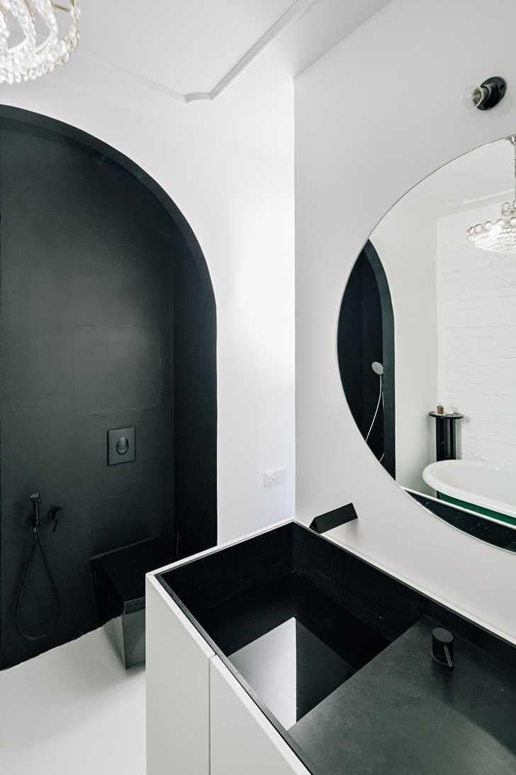 Смелая простота в дизайне московской квартиры (64 кв. м)