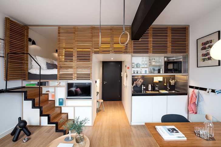 The Smallest Loft In The World 30 Sqm Foto Idei Dizajn