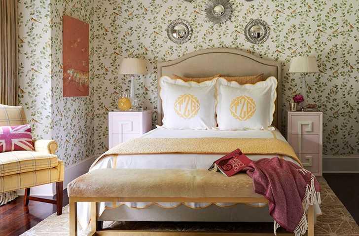 Очаровательная спальня от Laura Ashley