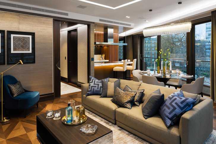 Впечатляющие апартаменты с видом на Тауэрский мост в Лондоне
