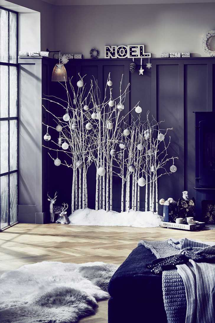 John Lewis Christmas 2015, Christmas trees, lights