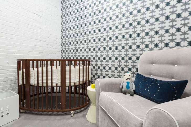 Baby bedroom of Cohen project located at 25 Murray Street, New York