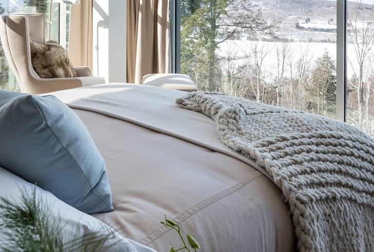 Современный интерьер с элементами стиля шале в Канаде   Пуфик - блог о дизайне интерьера