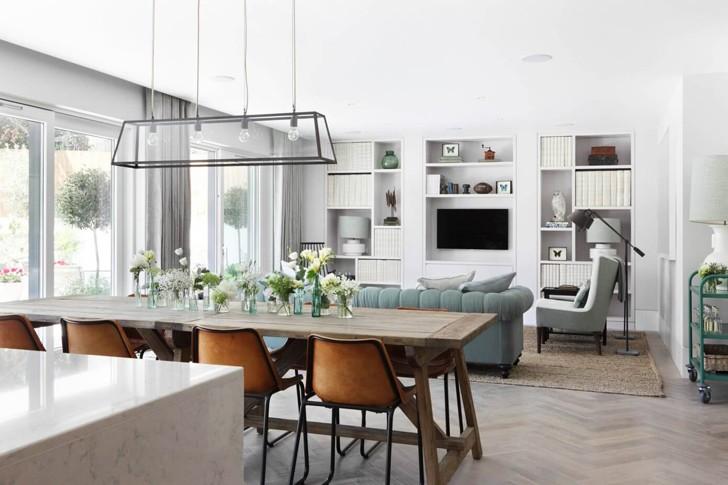 Природные цвета в интерьере квартиры в Лондоне | Пуфик - блог о дизайне интерьера