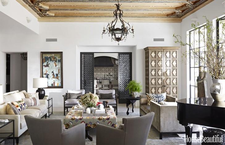 Кусочек Марокко в интерьере калифорнийского дома