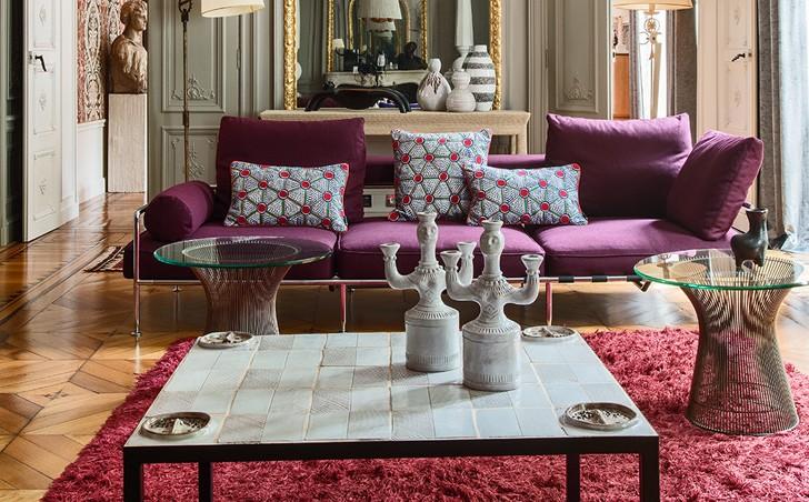 Парижская изысканность в современном исполнении | Пуфик - блог о дизайне интерьера