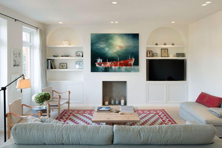 Современный апартаменты в старинном доме в Лондоне   Пуфик - блог о дизайне интерьера