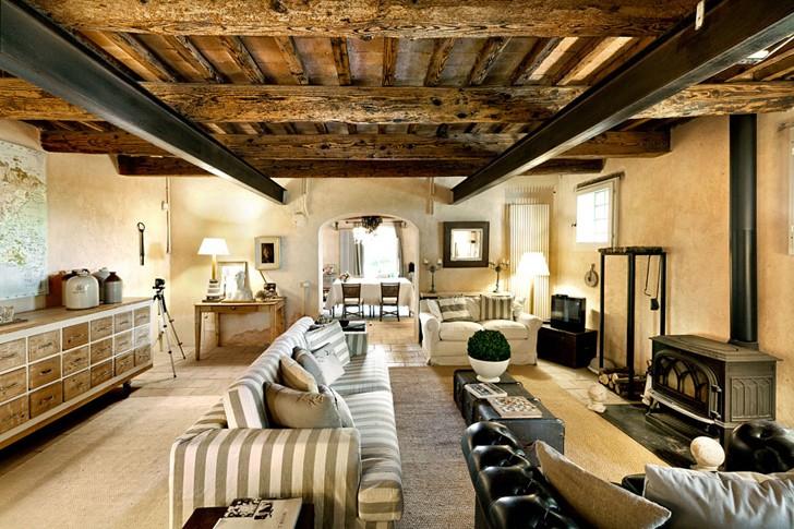 Старинный каменный дом в Италии | Пуфик - блог о дизайне интерьера