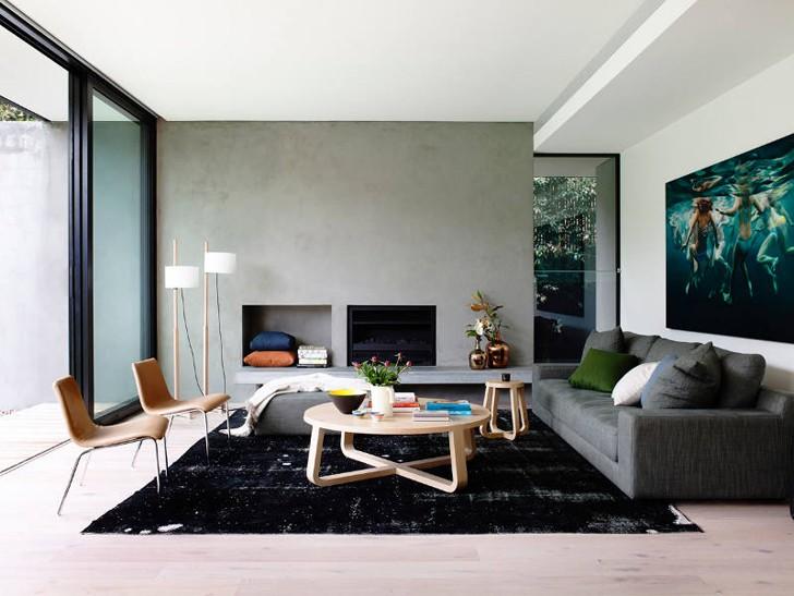 Современный и просторный дом в Австралии | Пуфик - блог о дизайне интерьера