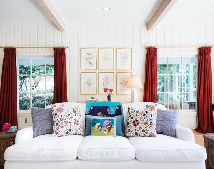 Красивый уют в загородном доме в США | Пуфик - блог о дизайне интерьера