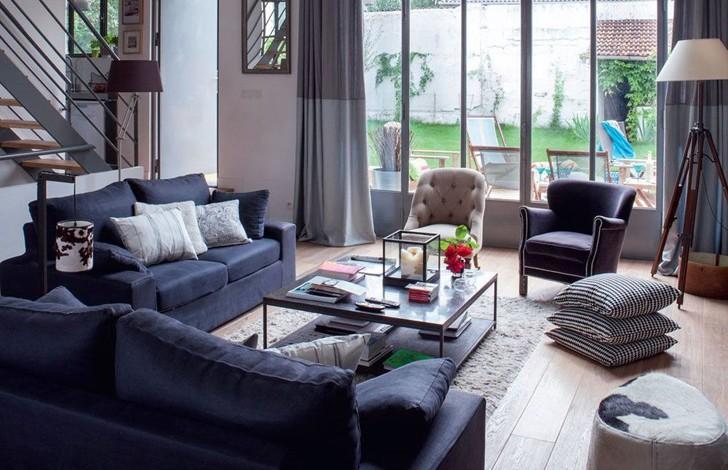 Особняк со вторым светом во Франции | Пуфик - блог о дизайне интерьера