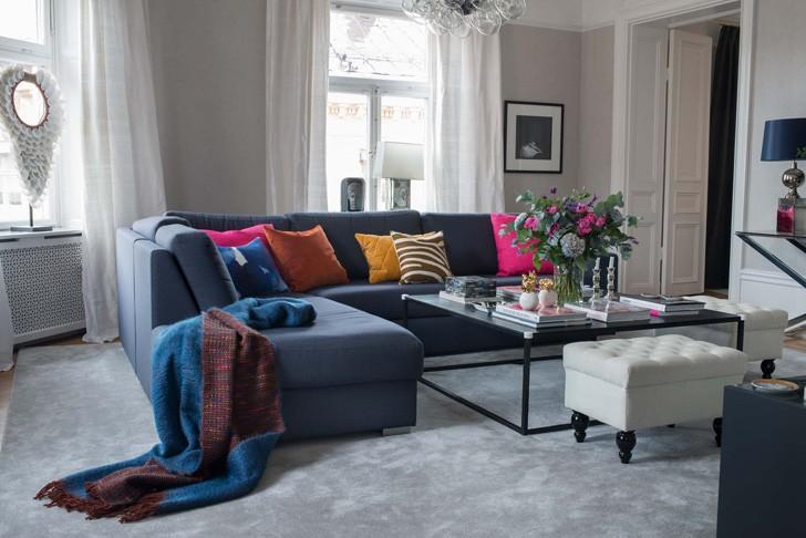 Элегантная современная квартира в Стокгольме | Пуфик - блог о дизайне интерьера