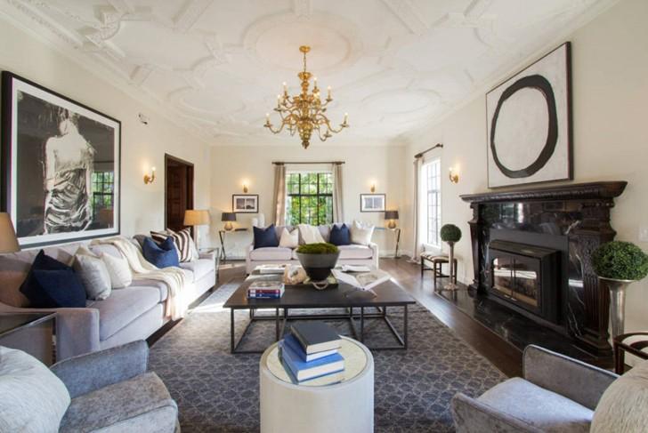 Традиционный интерьер дома в Лос-Анджелесе | Пуфик - блог о дизайне интерьера