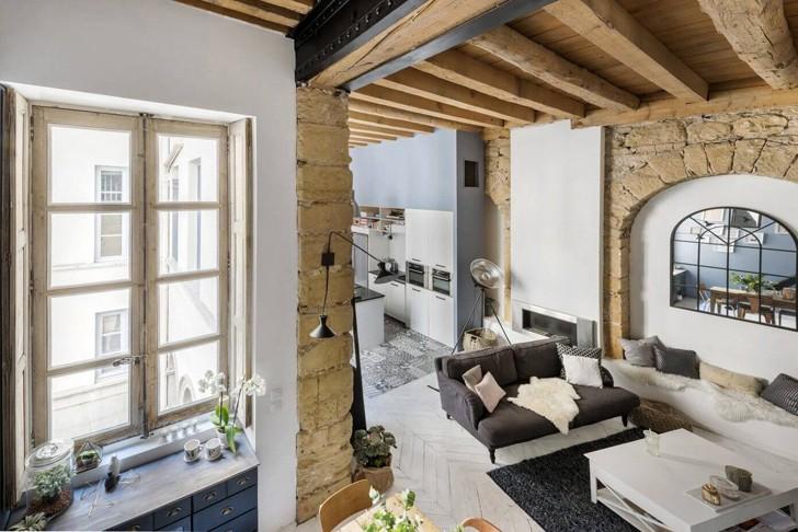 Stylish Loft In Lyon 101 Sqm Photos Ideas Design