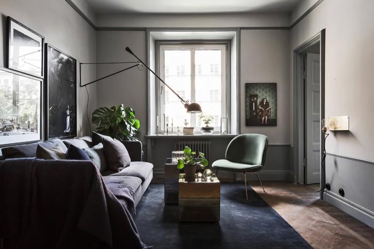 Холодные оттенки на 64 квадратах | Пуфик - блог о дизайне интерьера