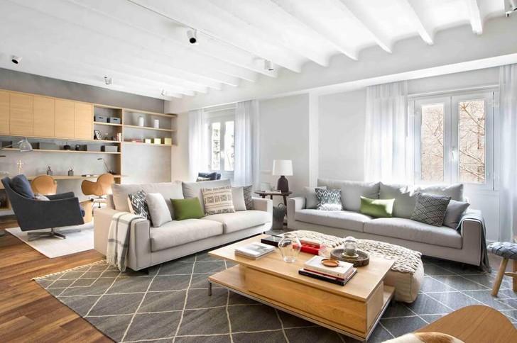 Апартаменты для большой семьи в Испании | Пуфик - блог о дизайне интерьера