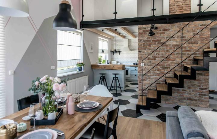 Стильный интерьер для семьи в Польше | Пуфик - блог о дизайне интерьера