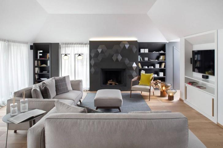 Квартира в Милане от Andrea Castrignano | Пуфик - блог о дизайне интерьера