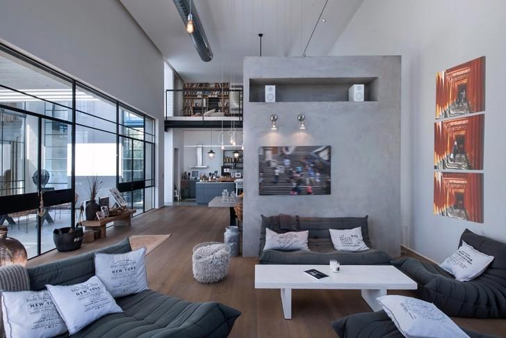Современный семейный дом в Тель-Авиве | Пуфик - блог о дизайне интерьера
