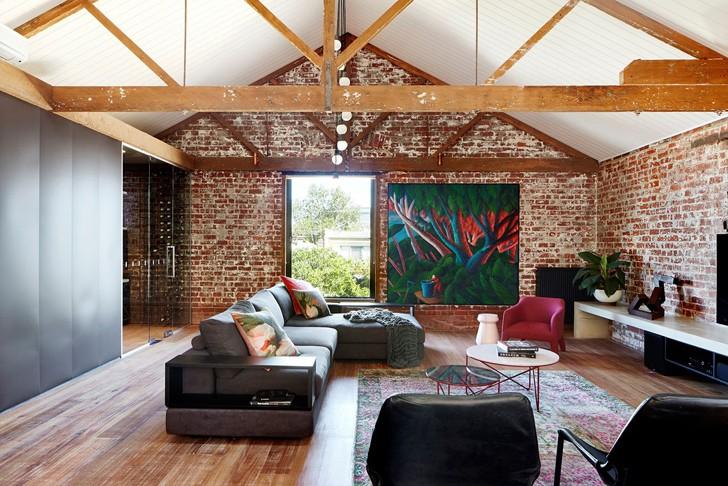 Прекрасная переделка старого склада в Мельбурне | Пуфик - блог о дизайне интерьера